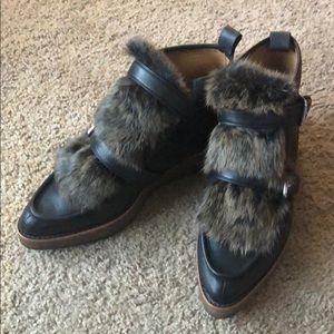 Coach shoes | Coach Sampson Fur Boots